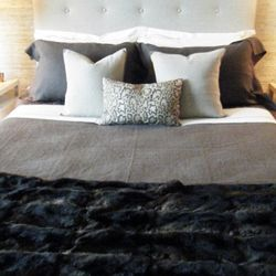 Looking at this Elie Tarahi bed is almost as soothing as actually taking an afternoon nap.