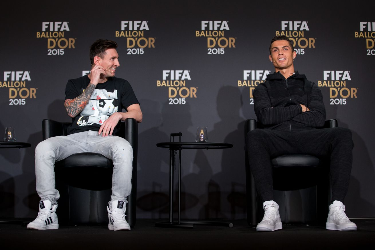 Cristiano and Messi to Watch Libertadores Final Side by Side
