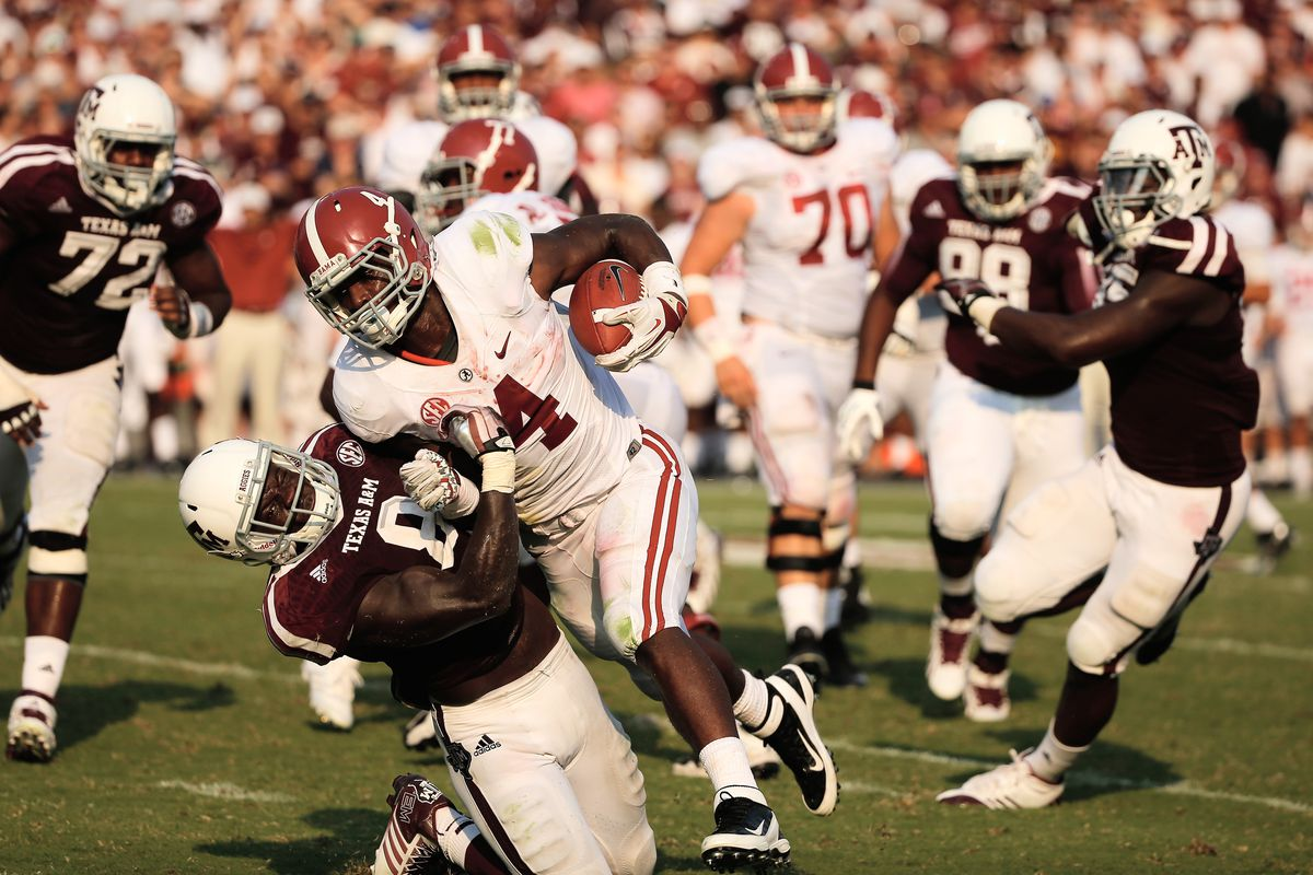 Alabama Beats Texas A M Football In Past Present And Future Tense