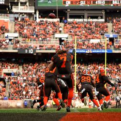 May 2019: In early May, the Browns signed the Scottish Hammer, Jamie Gillan. While he had an awesome background behind him, it wasn't thought that the rookie punter would actually unseat veteran Britton Colquitt. By the end of camp, the decision was made to make Gillan the team's punter in 2019.