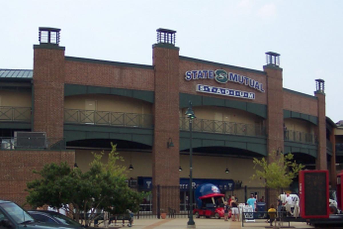 State Mutual Stadium in Rome, GA.