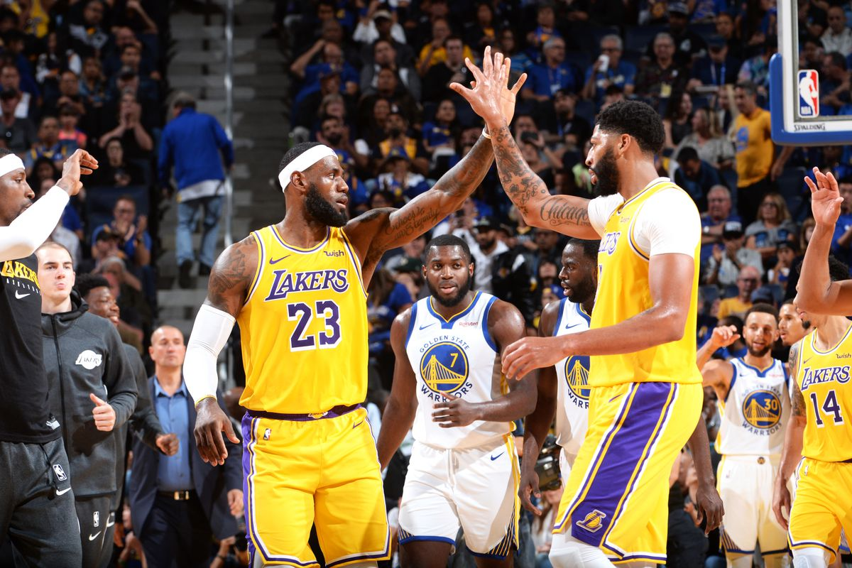 Lakers Star Lebron James On Building Chemistry With Anthony