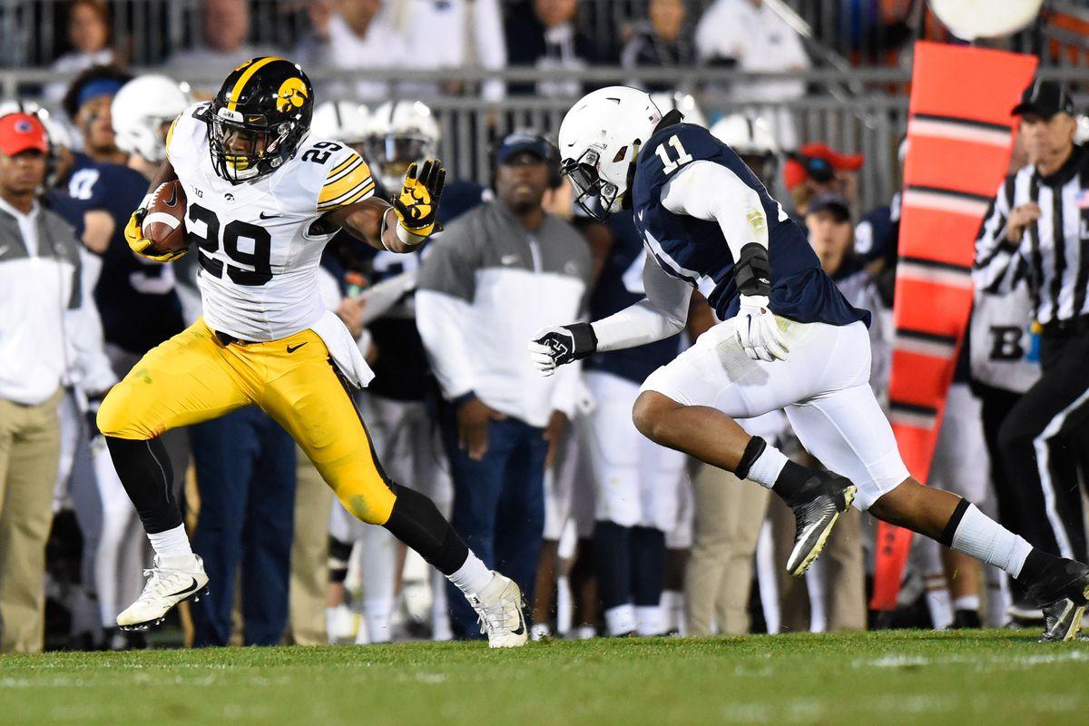 NCAA Football: Iowa at Penn State