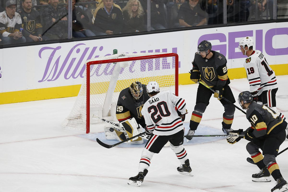 NHL: NOV 13 Blackhawks at Golden Knights