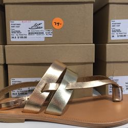 Joie Positano sandal in rose gold, $79 (from $155)