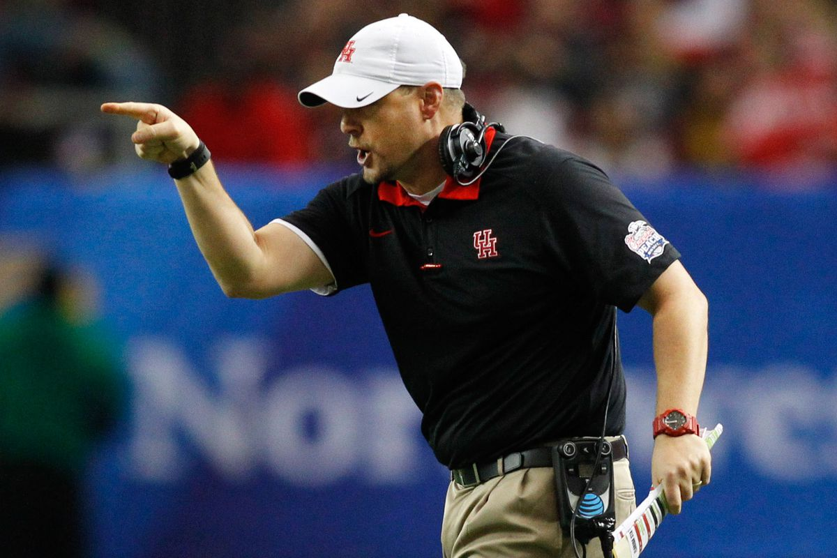 Houston coach Tom Herman feuds with local radio hosts in