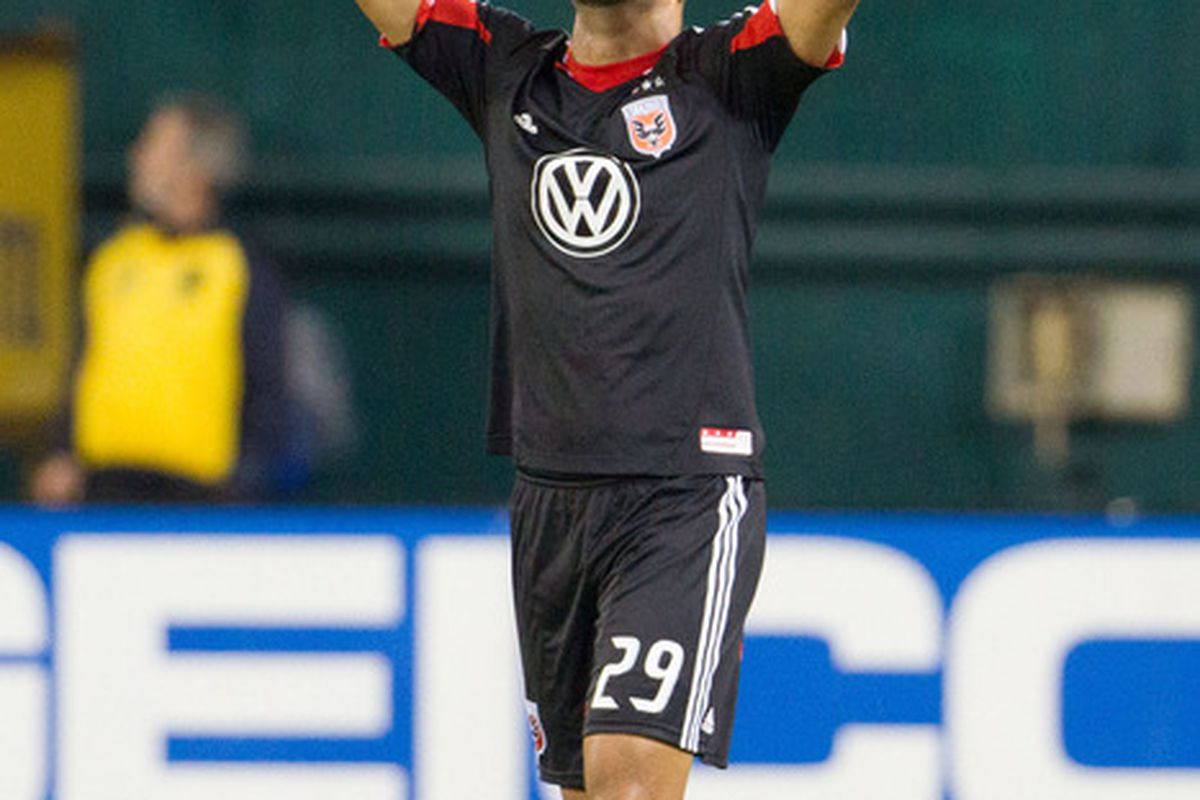 Maicon Santos has scored 6 goals so far in the 2012 campaign for DC United