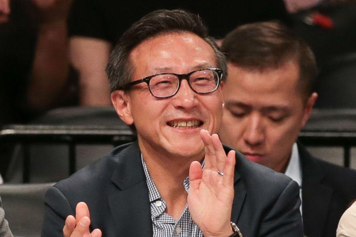 Andrew Yang talks hoops, says he and 'badass' Joe Tsai are 'friendly'