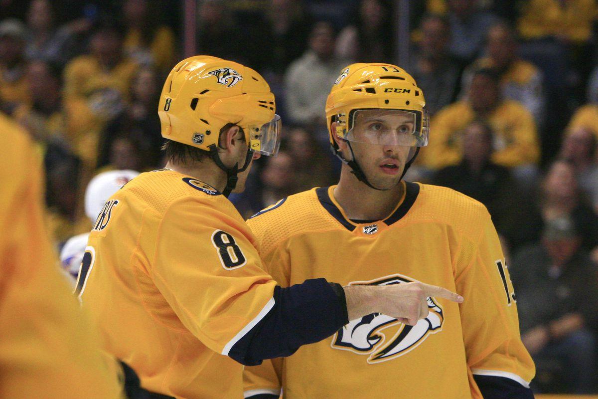 NHL: OCT 13 Islanders at Predators