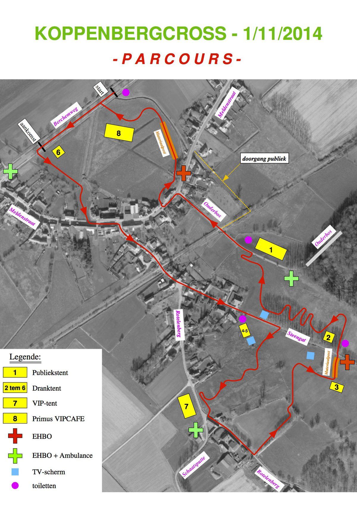 Koppenbergcross parcours