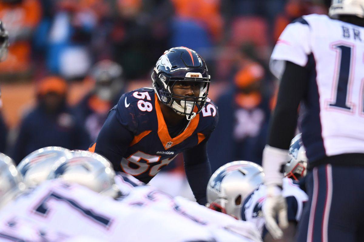 Broncos roster 2017 Von Miller Mile High Report