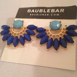 Half-circle starburst earrings, $15