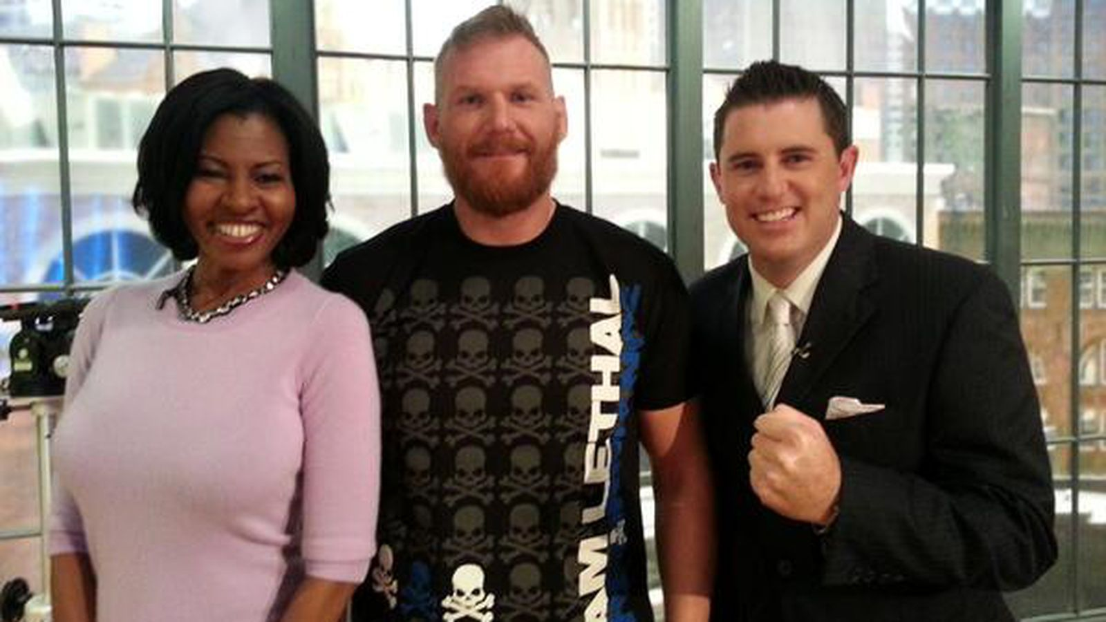 UFC 164 video: Smooth-talking Josh Barnett dazzles FOX news