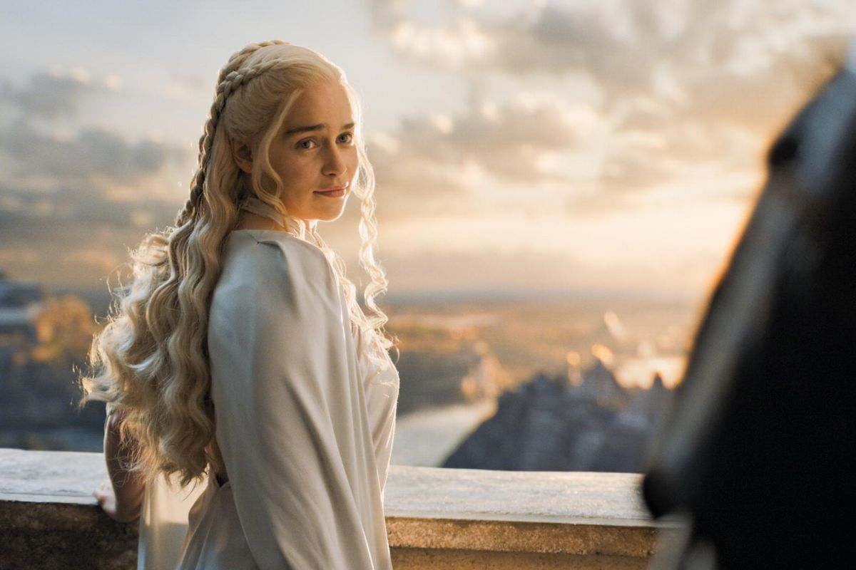 What's Dany thinking behind that sly smile?