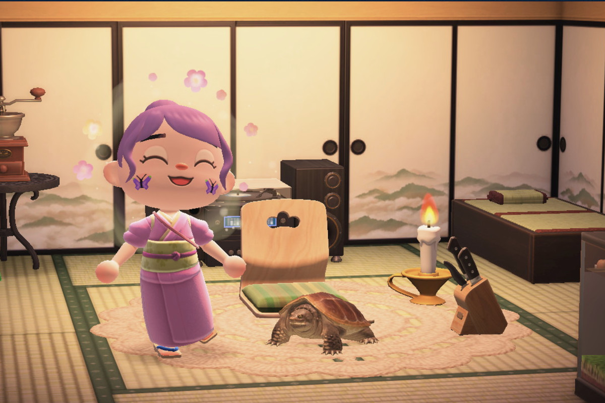 Animal Crossing New Horizons Turtles Are Now Pets Polygon