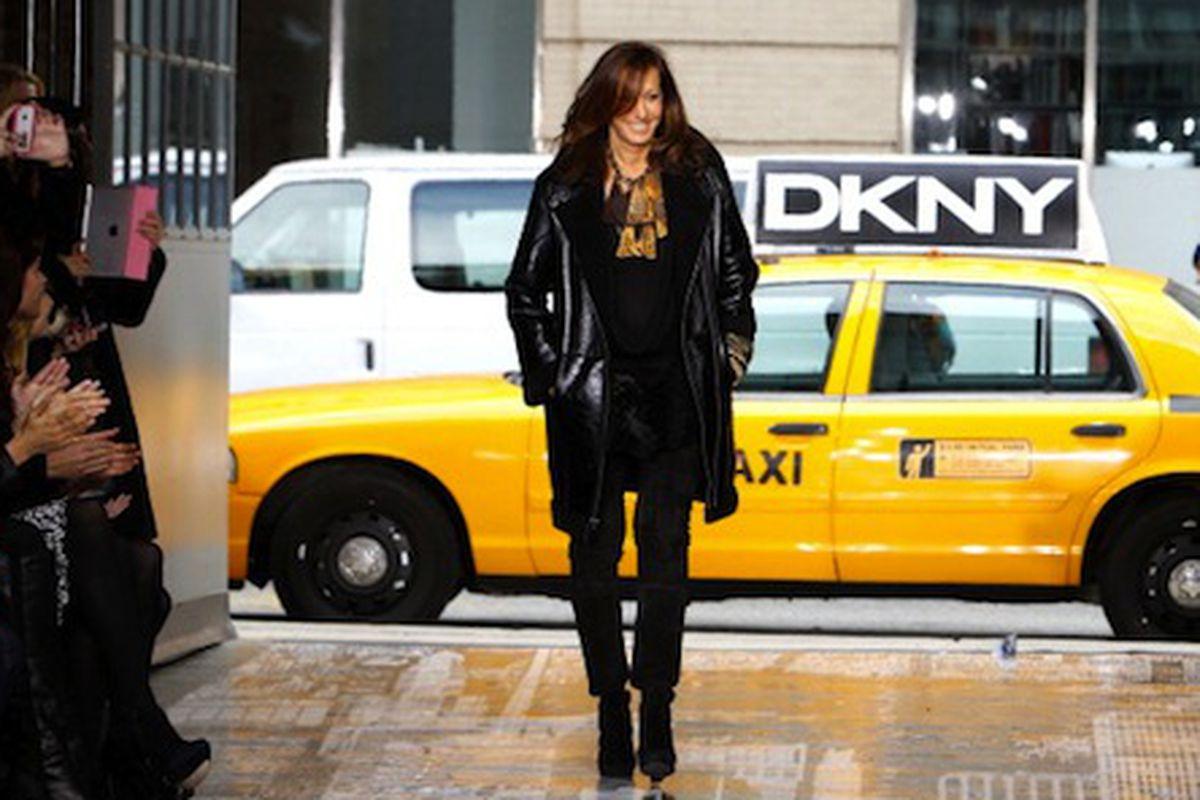 Designer Donna Karan. Image via Getty.