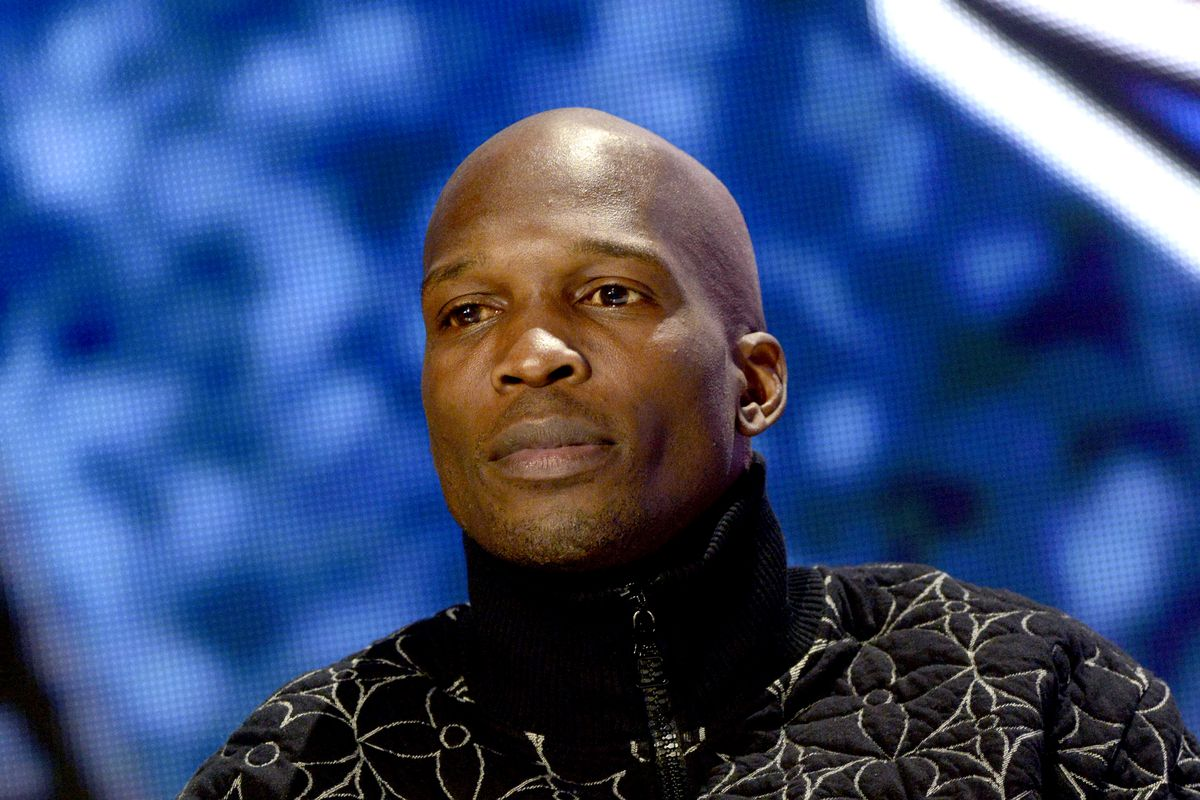 Chad Ochocinco speaks during The SHAQ Bowl for Super Bowl LV on February 07, 2021 in Tampa, Florida.