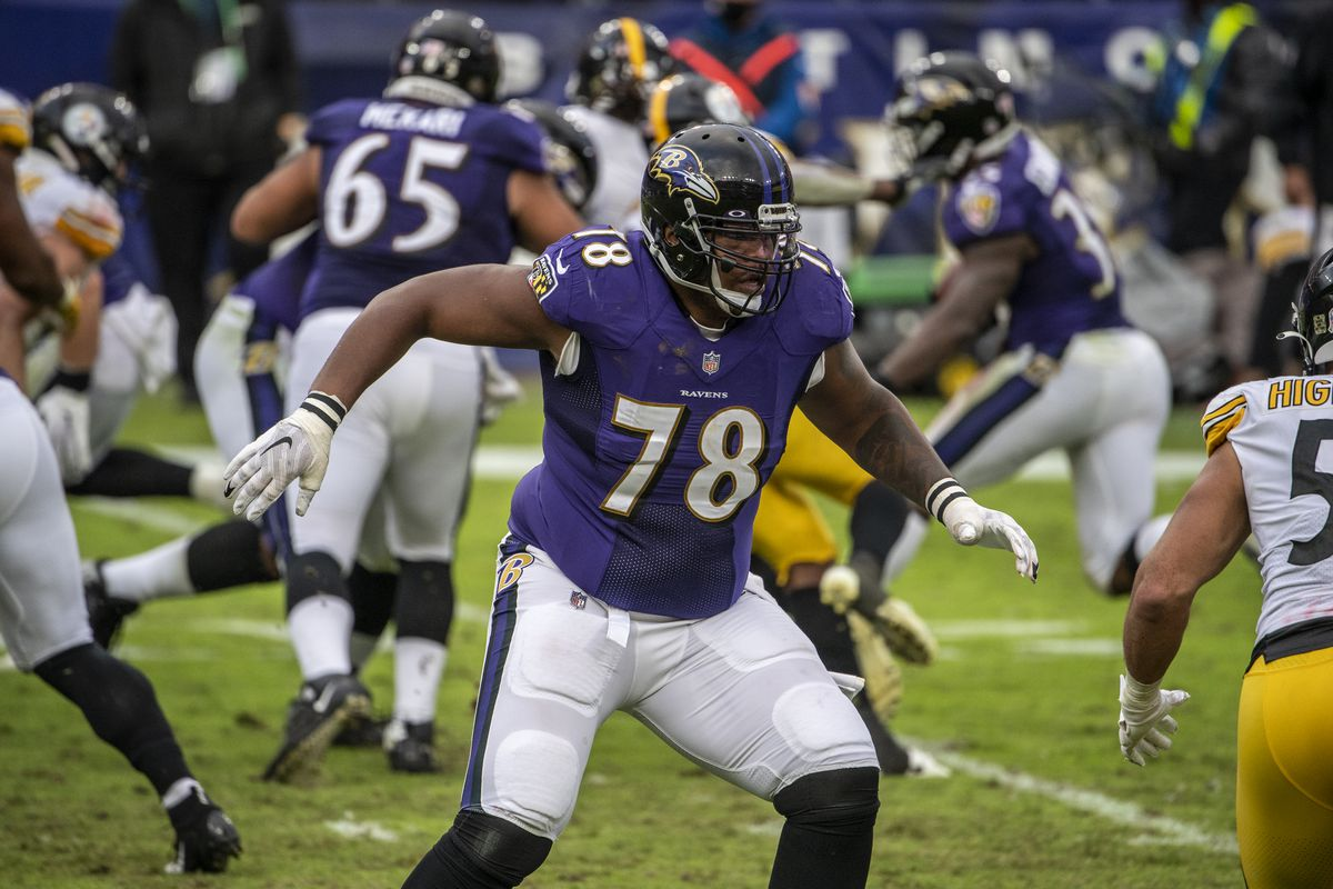 Trading Orlando Brown Jr. would be counterproductive to the Ravens' prime  objective - Baltimore Beatdown