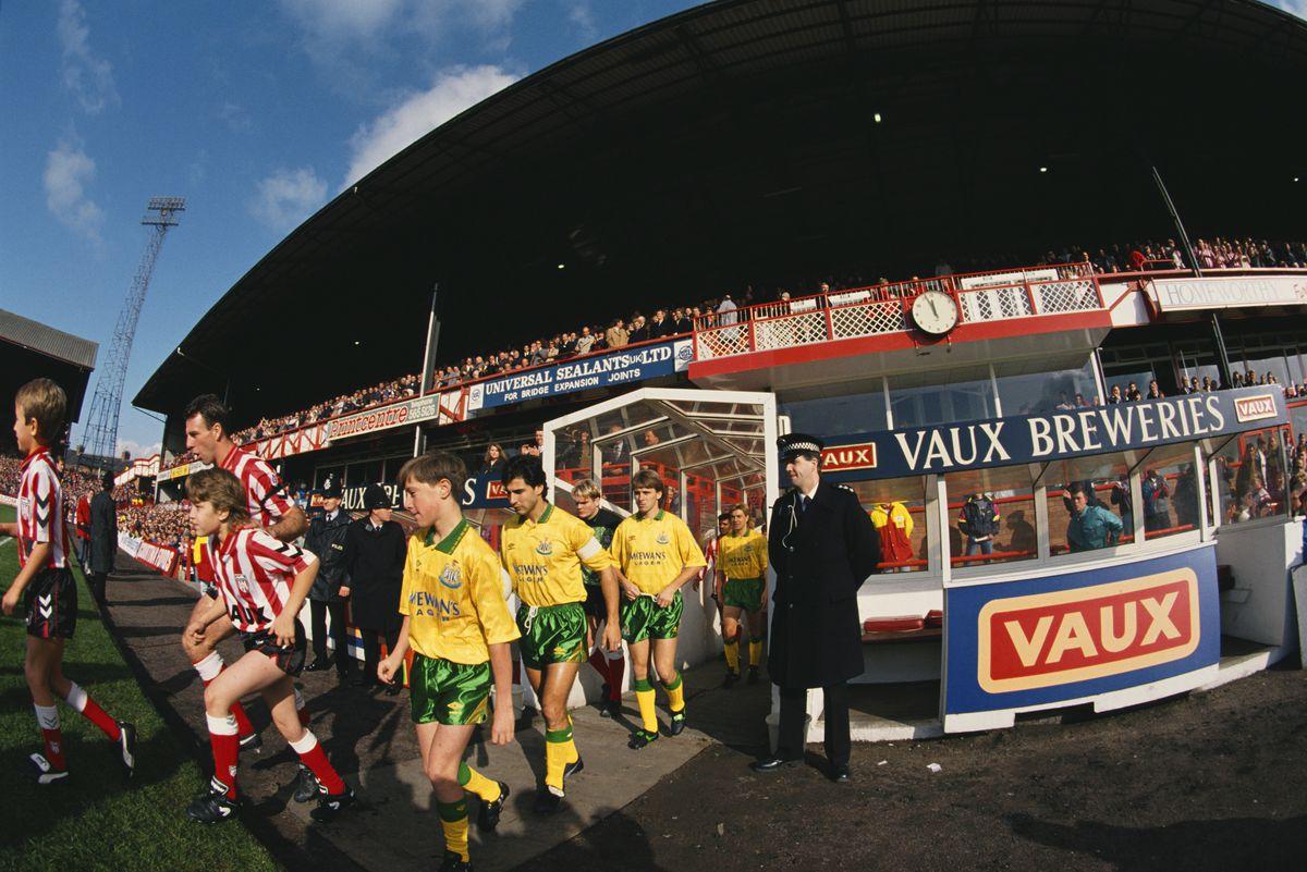 Roker Park Sunderland v Newcastle United 1992/93