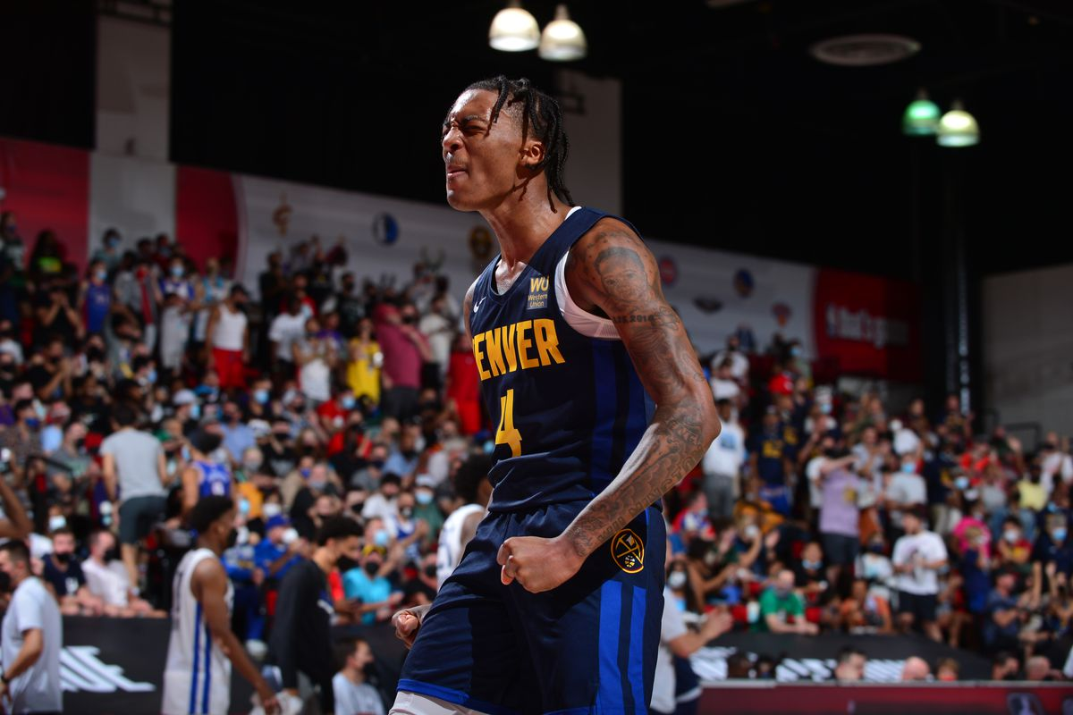 2021 Las Vegas Summer League - Denver Nuggets v Dallas Mavericks