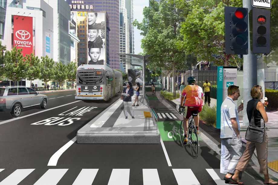 With less room needed for cars, streets would be freed up for bike lanes or public space