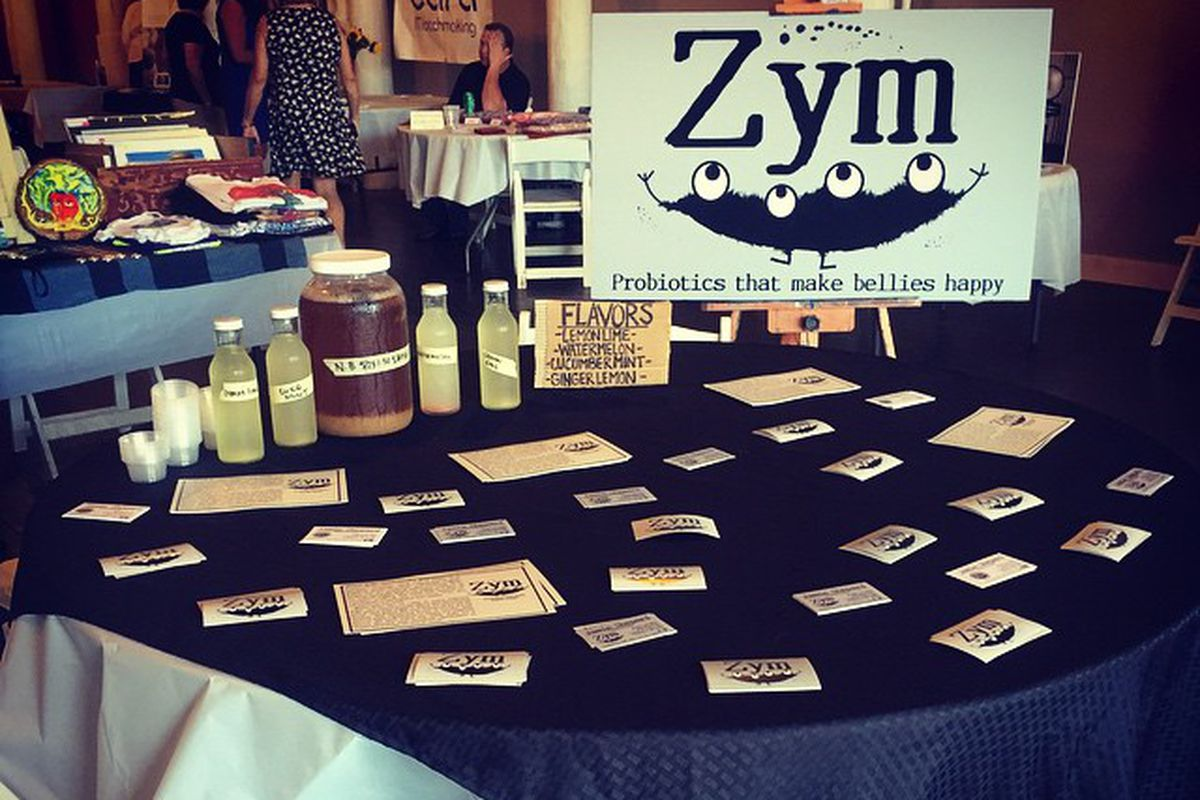 Zym's presence at the Pepperell Mill Festival in May.