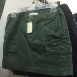 Corduroy skirt, $75 (from $225)
