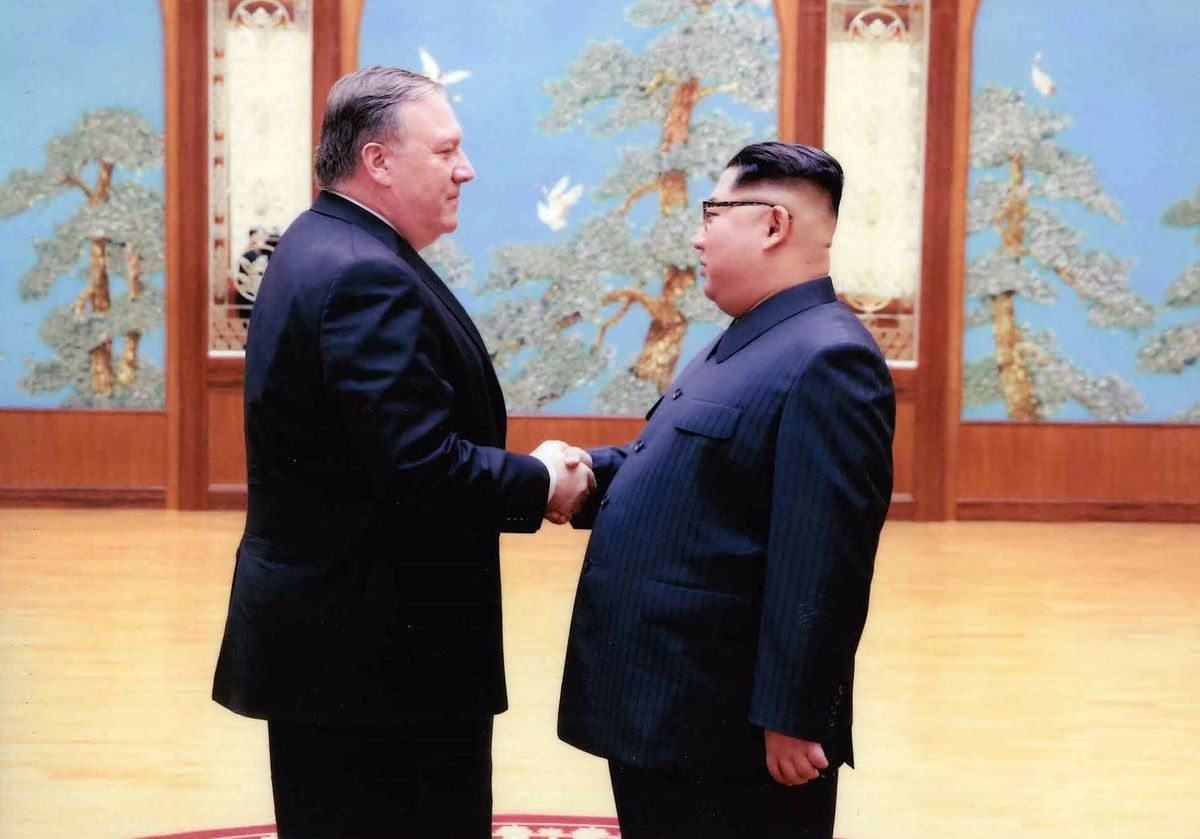 """Secretary of State Mike Pompeo met with North Korean leader Kim Jong Un in Pyongyang last week. He says both countries are in """"complete agreement"""" ahead of Kim's summit with President Donald Trump."""