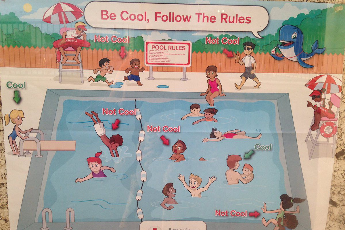 The Red Cross came under fire for a poster showing only children of color acting inappropriately.