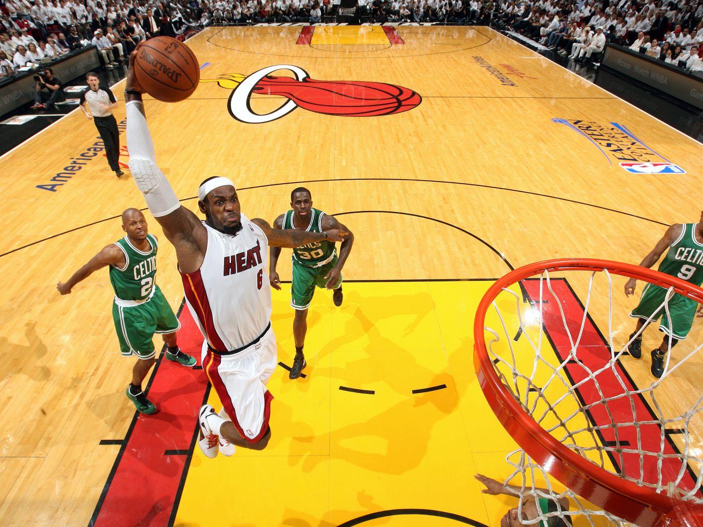 Rewind Big Three Heat Vanquish Celtics In Game 7 Hot Hot Hoops