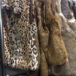 Furry vests, $85