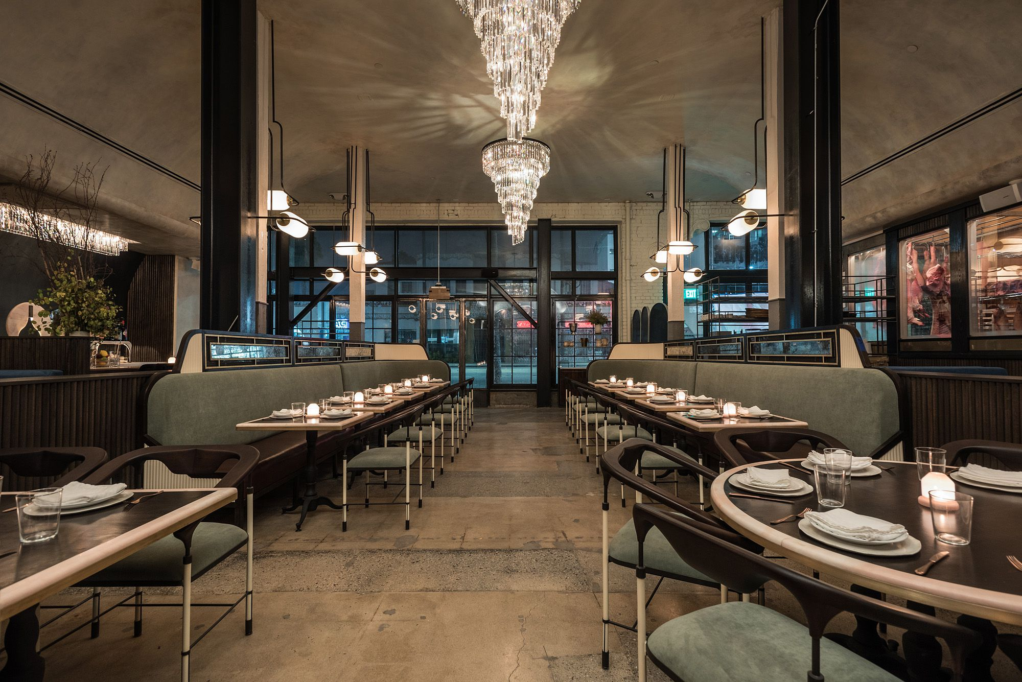 A stunning first look inside curtis stone 39 s new hollywood for A star is born salon