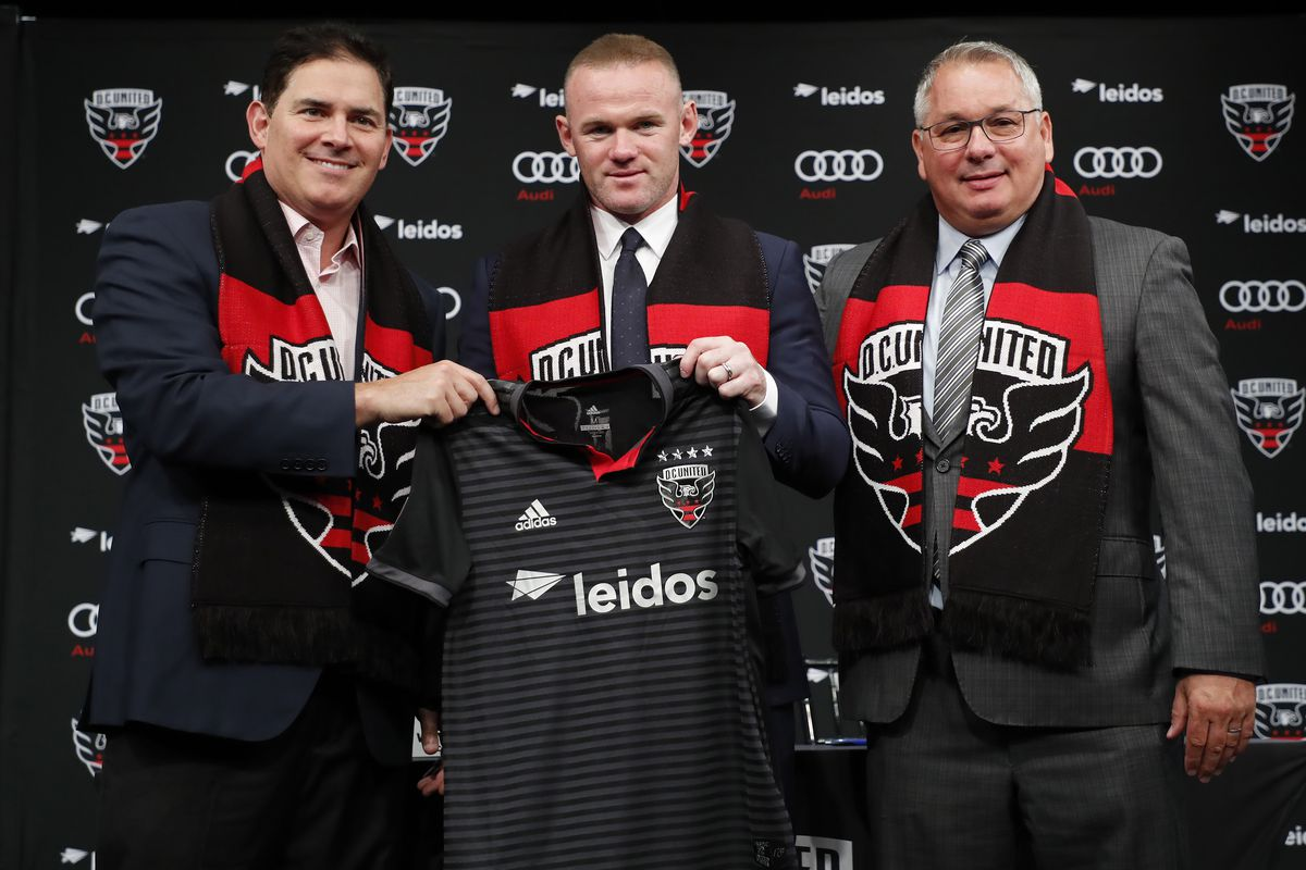 MLS: D.C. United-Wayne Rooney Press Conference