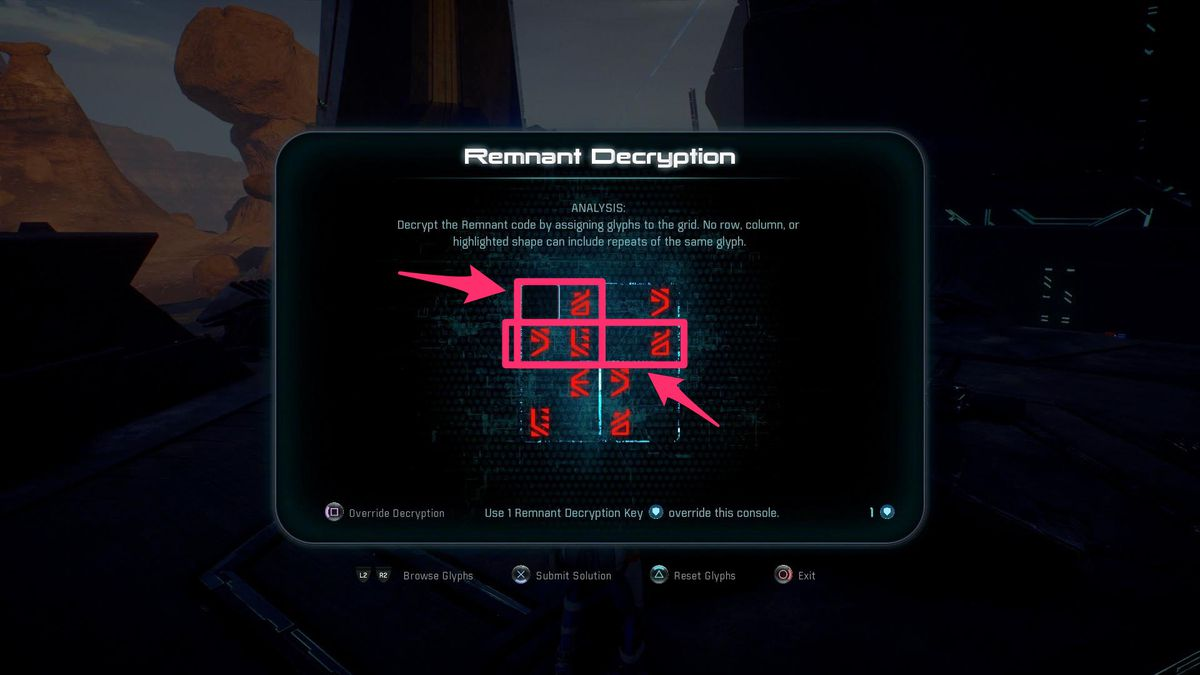 Mass Effect Andromeda Guide How To Solve Remnant Decryption