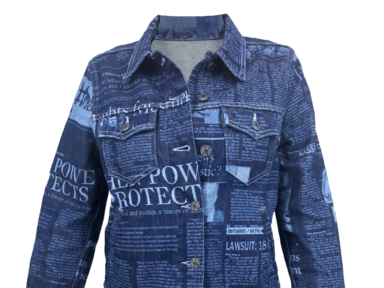 We Wear the Pants, a denim capsule collection, seeks to raise awareness about #MeToo.