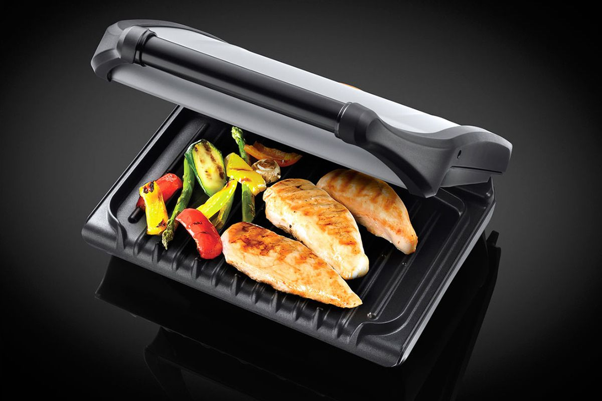 this george foreman grill is the best new gadget in my life, and