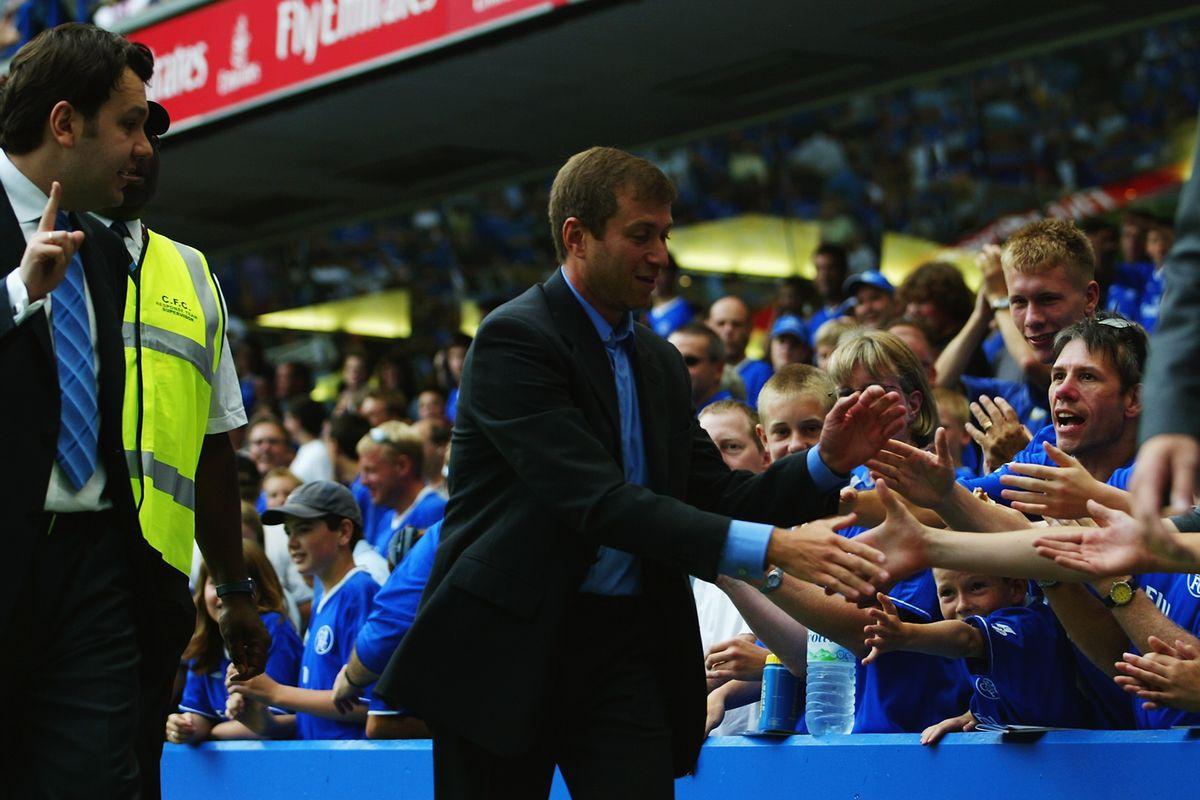 Chelsea club owner Roman Abramovich