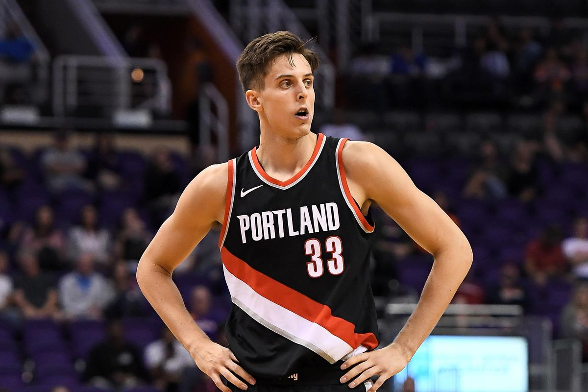 Zach Collins Rides to the Rescue as Blazers Down Thunder