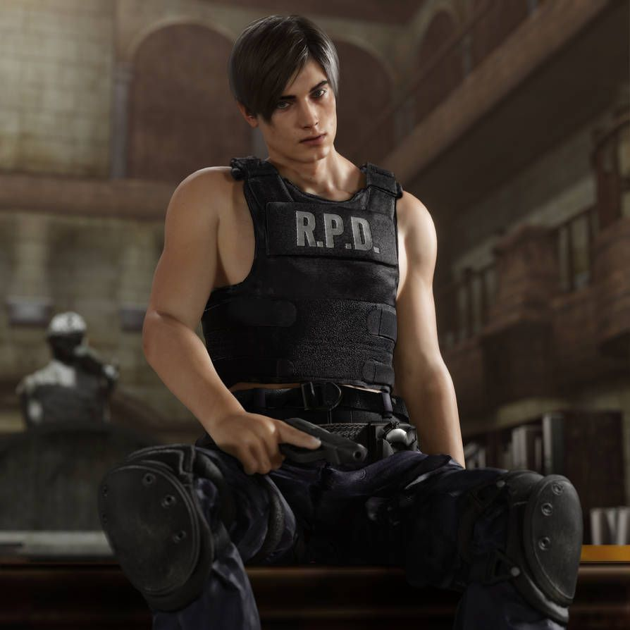 The Resident Evil 2 remake revives the sexy side of its star, Leon S. Kennedy - Polygon