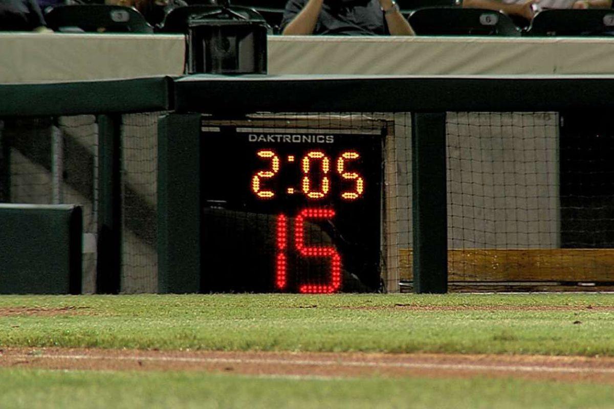 pitch clock