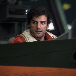Star Wars: The Last Jedi  Poe Dameron (Oscar Isaac)  Photo: Jonathan Olley  ©2017 Lucasfilm Ltd. All Rights Reserved.