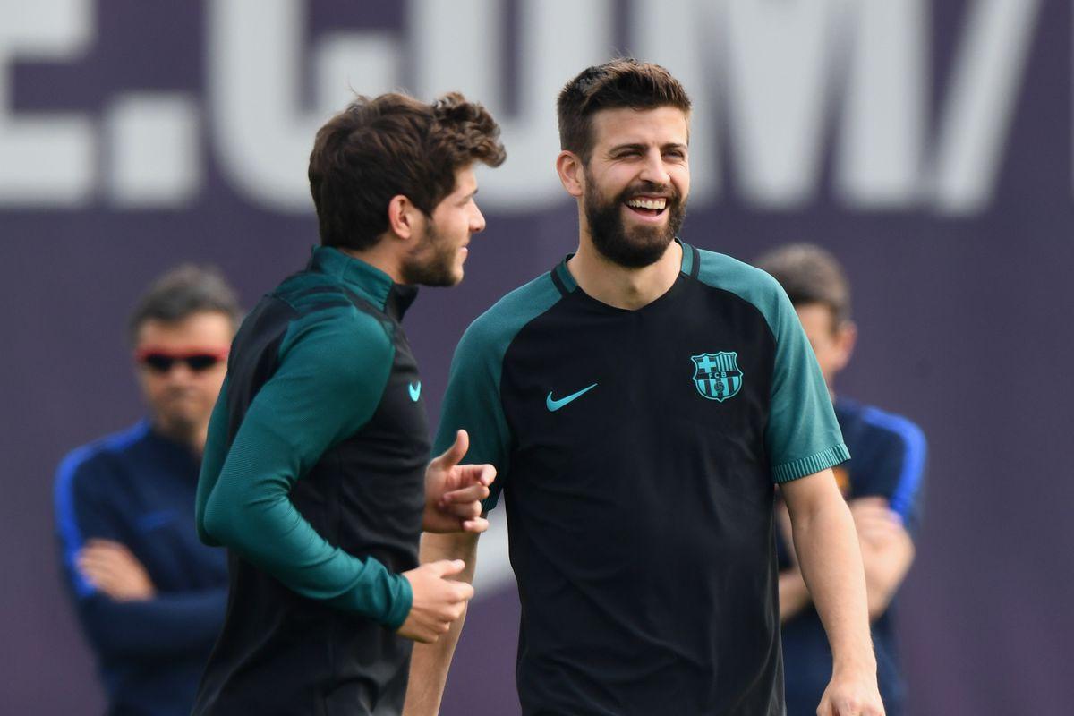 FC Barcelona - Training & Press Conference