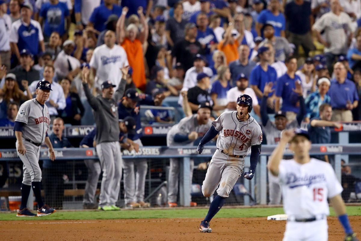 new arrivals 501df 216c8 Highlights from the Astros' World Series Game 2 win over the ...