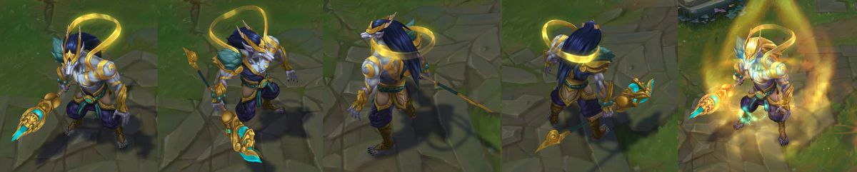 2018 Lunar Revel Skins Empress Lux And Guardian Nasus And