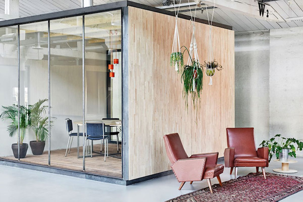 Groovy New Warehouse Office In Amsterdam Is Full Of What