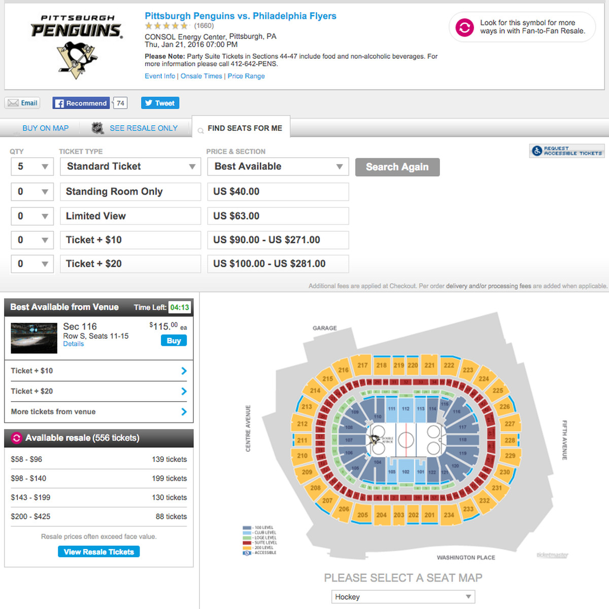 Penguins fans somehow havent sold out thursdays home game 5 tickets pens flyers biocorpaavc Images