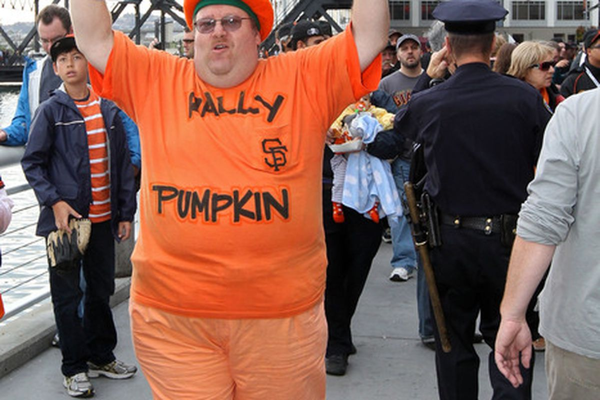 I didn't know that the Rally Pumpkin is a Parappa fan.