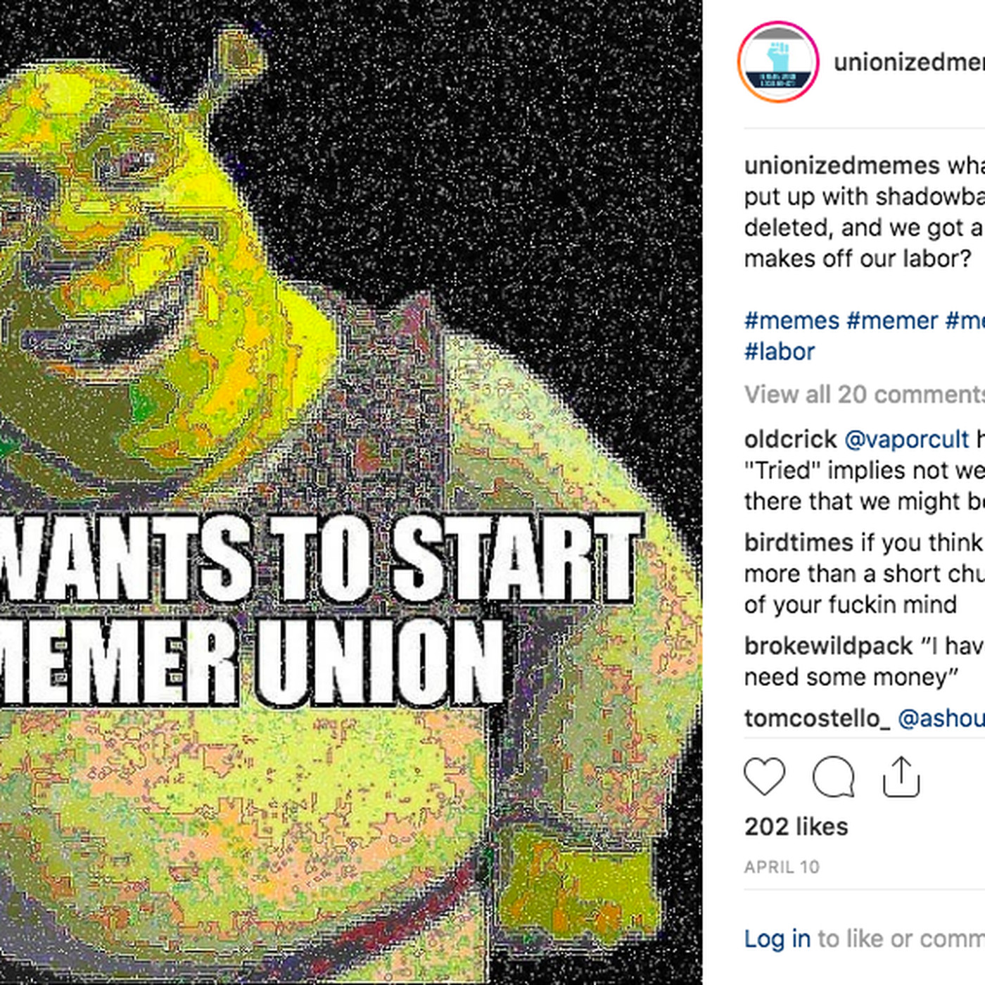 Instagram meme accounts are unionizing - Vox