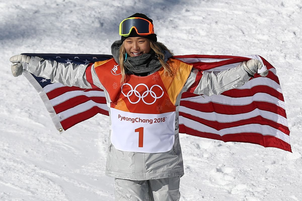 Image result for chloe kim winter olympics 2018