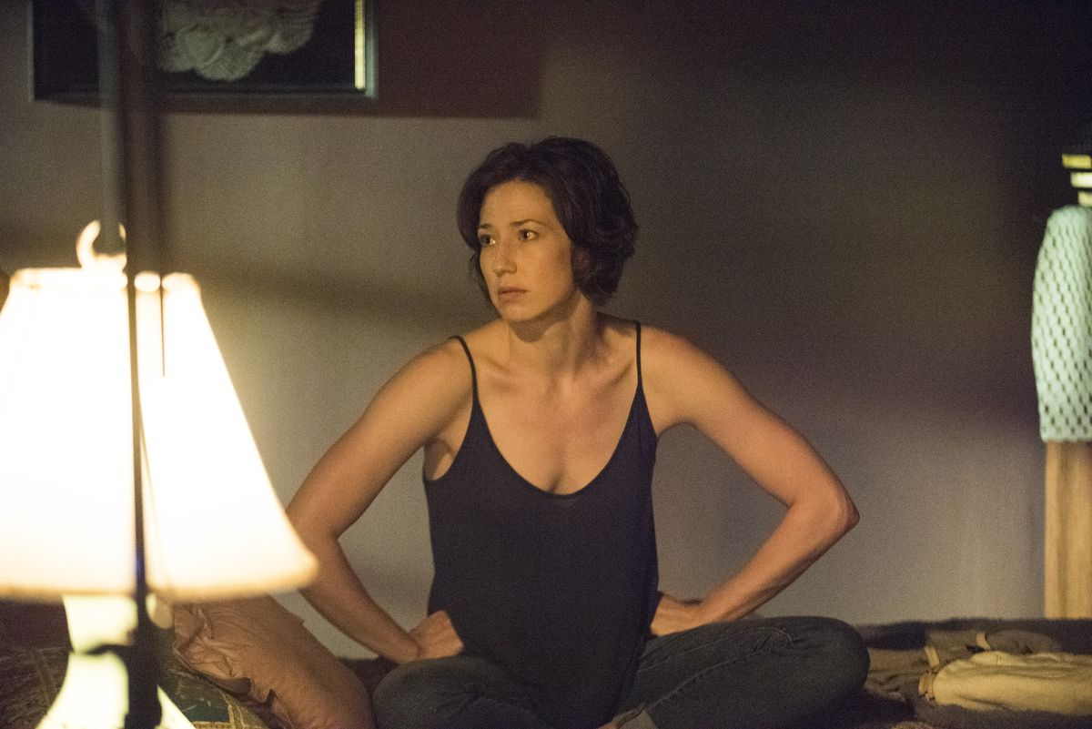 Carrie Coon in The Leftovers.